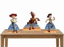 Imagem - Kit 3 Displays Mesa - Toy Story - TOT091 - TOT091