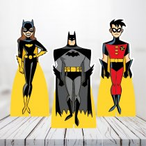 Imagem - Kit 3 Displays Mesa - Batman - TOT264 - TOT264