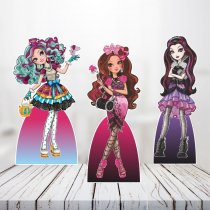 Imagem - Kit 3 Totens Mesa - Ever After High Briar Beauty - TOT258 - TOT258