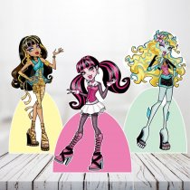 Imagem - Kit 3 Displays Mesa - Monster High - TOT259 - TOT259
