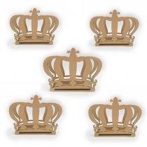 Imagem - Porta Guardanapos de Coroa 5 peças - PG130 - PG130
