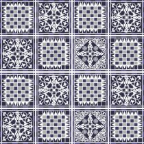 Imagem - Kit Adesivo para Azulejo 36Pçs 15x15cm Azu018 - Azu018