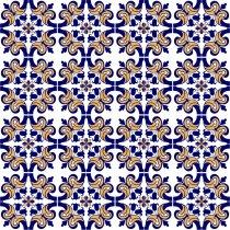 Imagem - Kit Adesivo para Azulejo 36Pçs 15x15cm Azu024 - Azu024