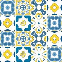 Imagem - Kit Adesivo para Azulejo 36Pçs 15x15cm Azu06 - Azu06