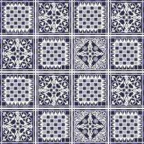 Imagem - Kit Adesivo para Azulejo 48Pçs 15x15cm Azu018 - 2Azu018
