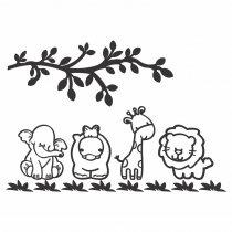 Imagem - Kit Animais em MDF - IN002 - IN002