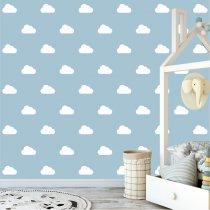 Imagem - Kit de Adesivos Nuvens com 120 peças KD014 - P1KD014