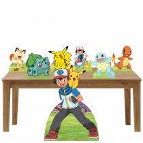 Imagem - Kit decoração de festa  totem e display 7peças - Pokemon - TOT284