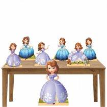 Imagem - Kit decoração totem e display 7peças - Princesinha Sophia - TOT288
