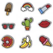 Imagem - Kit Verão pop art em MDF - PA012 - PA012