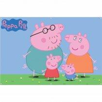 Imagem - Painel de Festa lona - Peppa Pig L022 - L022