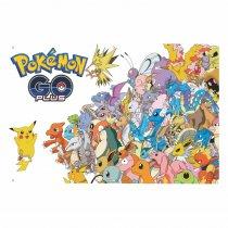 Imagem - Painel de Festa lona - Pokemon - L089 - L089