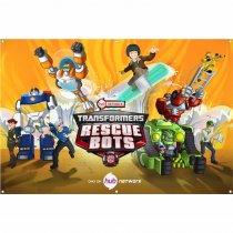 Imagem - Painel de Festa lona - Rescue Bots L066 - L066