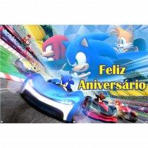 Imagem - Painel de Festa lona - Sonic L041 - L041