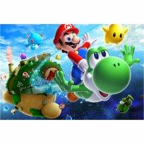 Imagem - Painel de Festa lona - Super Mario - L095 - L095