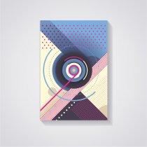 Imagem - Placa Decorativa - Disco de vinil Abstrato - Ps277