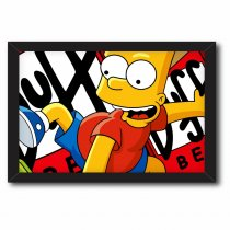 Imagem - Quadro Decorativo - Bart Simpson - Ps162