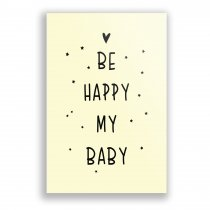 Imagem - Quadro Decorativo - Be Happy My Baby - Ps252 - Ps252