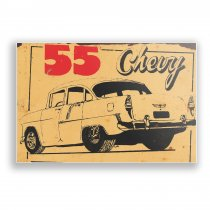 Imagem - Placa Decorativa - Chevy - Ps271