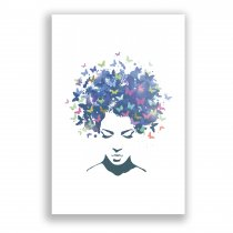 Imagem - Placa Decorativa - Borboletas - Ps273