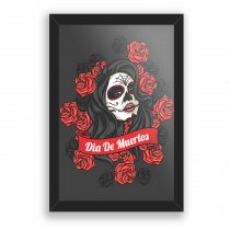 Imagem - Quadro Decorativo - Dia de Muertos - Ps264 - Ps264