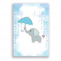 Imagem - Quadro Decorativo Elefante - Ps226 - Ps226
