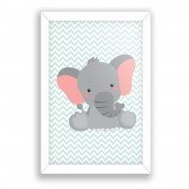 Imagem - Quadro Decorativo - Elefante - Ps263 - Ps263