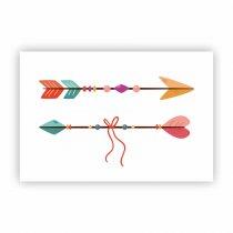 Imagem - Placa Decorativa - Flechas - Ps288