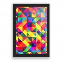 Imagem - Quadro Decorativo Geométrico colors - Ps227 - Ps227