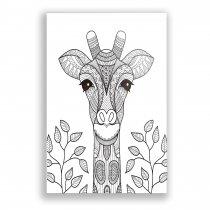 Imagem - Quadro Decorativo Girafa - Ps234 - Ps234