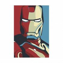 Placa Decorativa - Homem de ferro - Ps310