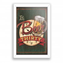 Imagem - Quadro Decorativo - It Beer Thirty - Ps269 - Ps269