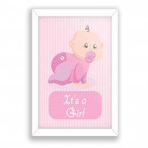 Imagem - Quadro Decorativo It's a girl Ps253 - Ps253