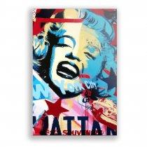 Imagem - Placa Decorativa - Marilyn Monroe - Ps274