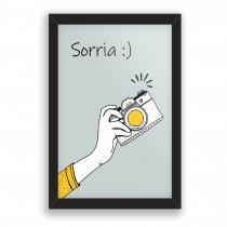 Imagem - Quadro Decorativo Sorria - Ps230 - Ps230