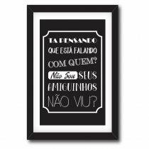 Imagem - Quadro Decorativo Ta Pensando - Ps205