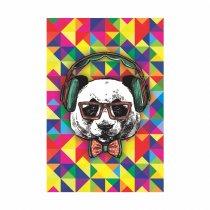 Imagem - Placa Decorativa - Urso de Óculos - Ps335
