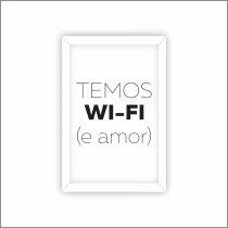 Imagem - Quadro Decorativo - Wifi Ps241 - Ps241