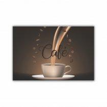 Imagem - Placa Decorativa - Xícara de Café  - Ps250