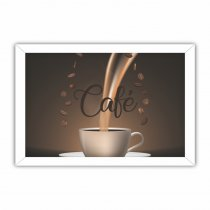 Imagem - Quadro Decorativo - Xícara de Café - Ps250 - Ps250
