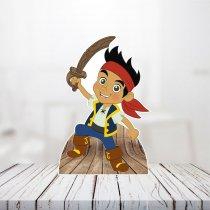 Imagem - Totem Display Mesa  - Jake E Os Piratas Da Terra Do Nunca - TOT007 - TOT007
