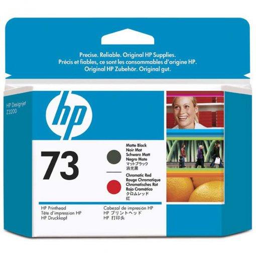 Cabeça de Impressão HP 73 Preto Mate e Vermelho Cromatico CD949A
