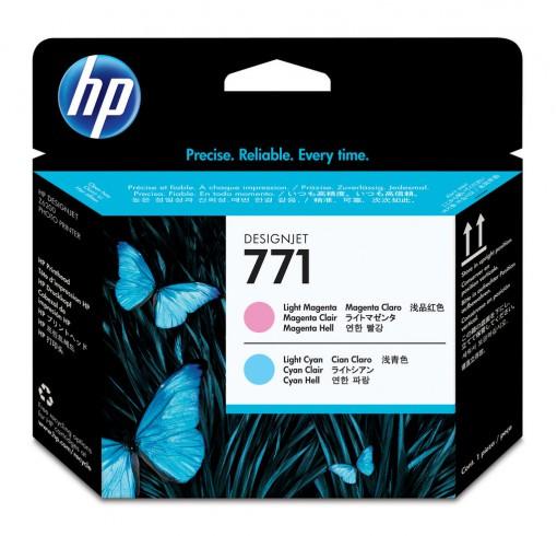 Cabeça de Impressão HP 771 Magenta Claro e Ciano Claro CE019A
