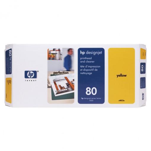 Cabeça de Impressão HP 80 Amarelo C4823A