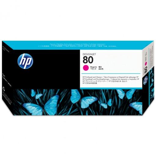 Cabeça de Impressão HP 80 Magenta C4822A