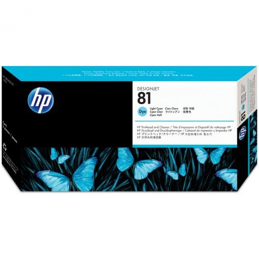 Cabeça de Impressão HP 81 Ciano Claro C4954A
