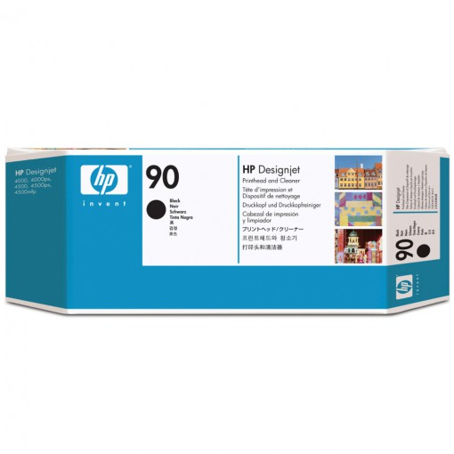 Cabeça de Impressão HP 90 Preto C5054A