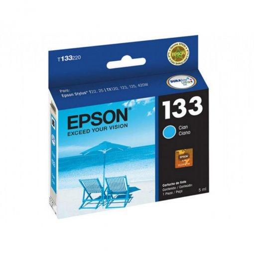 Cartucho Epson 133 Ciano T133220