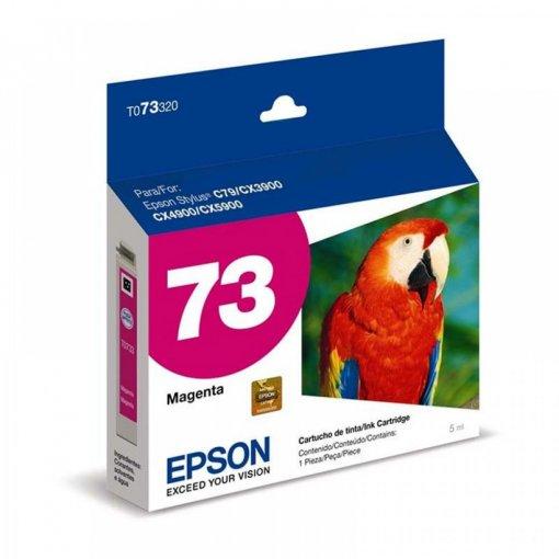 Cartucho Epson 73N Magenta 5ml. -  T073320