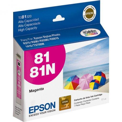 Cartucho Epson 81 Magenta T081320